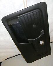 BMW E30 318i 320i 325i Convertible Black Door Lining Panel Vinyl Passenger Right