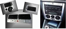 VW Golf-4 IV 2 X set  alu console Manuale clima + bocchette d'aria