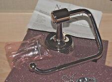 "Norwell Toilet Tissue Holder, Pivot Hook, Polished Nickel, ""Deco"" 3415"