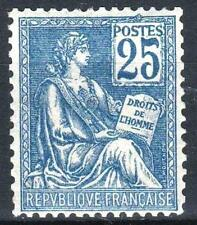 """FRANCE STAMP TIMBRE N° 118 """" MOUCHON 25c BLEU TYPE II 1900 """" NEUF xx LUXE  M562"""