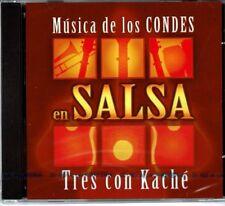Musica de Los  Condes en Salsa Tres conKache  BRAND  NEW SEALED CD