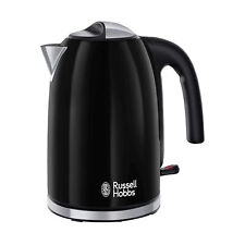 Russell Hobbs 20413 Colours Plus Kettle 3000W 1.7L - Black (with Rapid Boil)