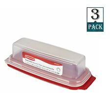 Rubbermaid - Standard Butter Dish (Pack of 3)