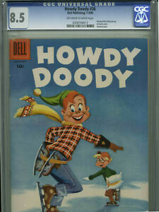 Howdy Doody #36 - January/March, 1956 - CGC 8.5 (Nice copy in High Grade!)
