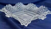 Antique Vintage Clear Hobnail Dish EAPG West Maryland  Hobnail Dish