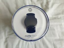 Moto 360 46mm 2nd Gen Android Wear Smart Watch - Black With Metal Band