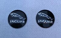 2 x 14mm JAGUAR Replacement Key Fob Badge Sticker