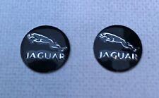 2 x 14mm JAGUAR Replacement Key Fob Badge Sticker