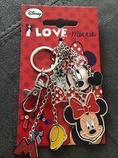 Disney Minnie Mouse Bag Charms/Key Ring.