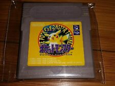 POKEMON YELLOW VERSION PIKACHU - nintendo gameboy import jp USA SELLER