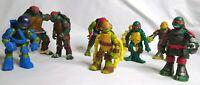 Playmates TMNT Action Figure Lot Of 9, Teenage Mutant Ninja Turtles