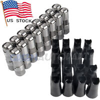 12499225 HL124 For LS7 LS2 16 GM Performance Hydraulic Roller Lifters w/ 4 Trays