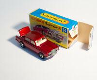 Matchbox / Lesney Superfast 24 Rolls Royce Silver Shadow Rare pink base
