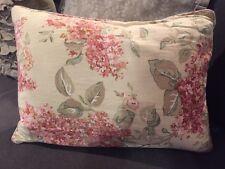 """Ralph Lauren Decorative Hydrangea Floral Down Pillow Size 19"""" X 14"""" Gorgeous!"""