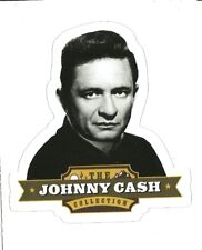 JOHNNY CASH Music Sticker Decal