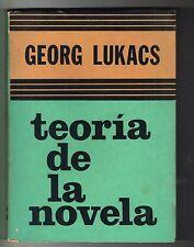 Georg Lukacs Teoria De La Novela Siglo Veinte Argentina 1974