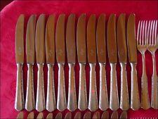 WMF 2000 Tafelbesteck 90 versilbert 84 Teile 12 Personen erstklassiger Zustand