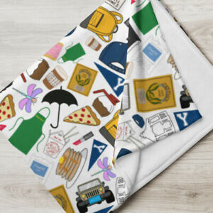 Gilmore Girls TV Show Fan Icons Throw Blanket Quilt