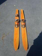 New listing Orange Riviera Combo Water Skis