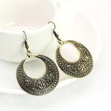 Women's Vintage Bronze Silver Retro Long Earrings Drop Dangle Jewellery hot