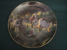 COW collector plate GOD'S COUNTRY I Michael Sieve HOLSTEIN CATTLE Barn Farm