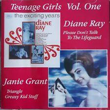 "COMPILATION   ""TEENAGE GIRLS VOL.1  -  DIANE RAY &  JANIE GRANT""   (LIKE NEW) CD"
