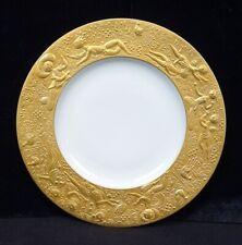 """Rosenthal Magic Flute Zauberflöte Wiinblad Gold Bread & Butter Plate 7 1/2"""""""