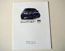 Fiat . 500 . Fiat 500 Twinair . September 2011 Sales Brochure