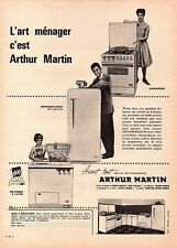 ▬► Publicité French Print advertising  - Électroménager - ARTHUR MARTIN - 1961