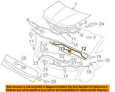 5902A110 Mitsubishi Weatherstrip,hood,rr 5902A110