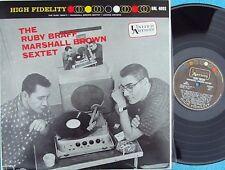 Ruby Braff Marshall Brown Sextet SPA ST Reissue LP NM New Orleans Jazz