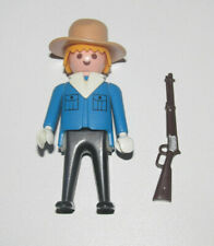 Playmobil Figurine Personnage Vintage Cow Boy Westerns + Fusil