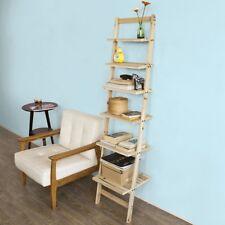 SoBuy®Estantería escalonada,librería,estantería de pared,6 estantes,FRG161-N,ES