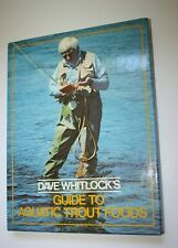 Book Dave Whitlocks Guide to Aquatic Trout Foods Fly Fishing 1982