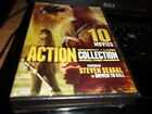 10 action movies including Driven to Kill, Cia II Target Alexa, Deadly Breed, Ri