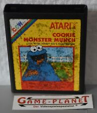 Cookie Monster Munch ATARI VCS 2600 (1983) Cookie Monster Sesame Street einkaufgp