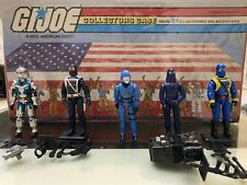 Gi Joe Cobra Commander Lot V1.5 V2 V3 V5 V9 Vintage 80s
