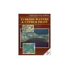 Turkish Waters and Cyprus Pilot by Heikell, Rod Hardback Book The Cheap Fast