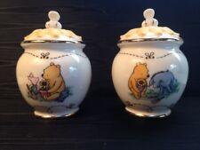 Lenox Pooh's Garden Salt & Pepper Set, NIB, COA