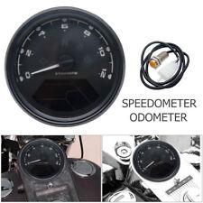 Universal Digital LCD Motorcycle Speedometer Odometer Motorbike Tachometer MPH