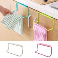 Kitchen Over Door Tea Towel Holder Rack Rail Cupboard Hanger Bar Hook Bathroom1X