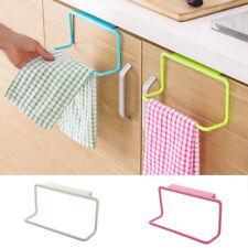 Over Door Tea Towel Holder Rack Rail Cupboard Hanger Bar Hook Bathroom Kitchen B