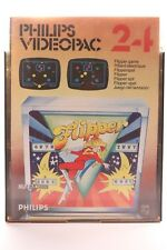 VINTAGE PHILIPS G7000 CONSOLE COMPUTER VIDEOPAC 34 SATELLITE ATTACK GAME