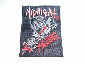 MIDNIGHT NO MERCY EMBROIDERED PATCH