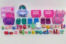 Lot 34 Shopkins Bedroom-Themed Figures w/Slumber Fun Bunk Bed Dazzling Dresser+