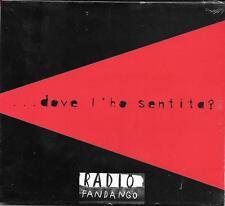 """"""" DOVE L'HO SENTITA ? """" RARO CD FANDANGO PROMO CELOPHANATO ( LIGABUE )"""