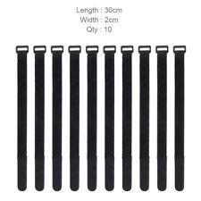 Réutilisable 10 Pièces Autocollant Velcro Colliers de Serrage Fastener-Strap