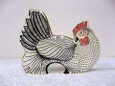 Vintage Abraham Palatnik Lucite Acrylic Hen Chicken Egg Sculpture Figurine 600