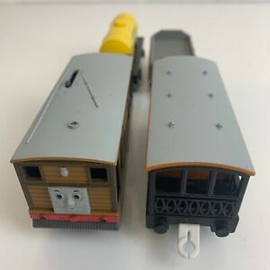 TOMY Thomas & Friends TOBY TrackMaster + Extra Carriages Oil Tanker etc 1996