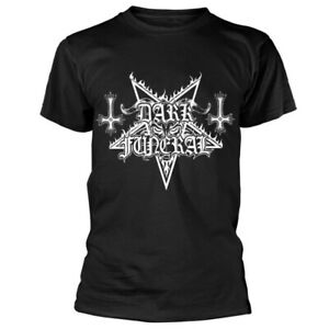 Dark Funeral Logo Shirt S-XXL T-shirt Black Metal Band Official Tshirt